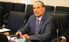 Сенатор А.Александров встретился сврио губернатора Калужской области В.Шапшой