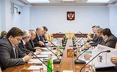 Вверхней палате прошло заседание Комитета СФ побюджету ифинансовым рынкам