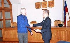 В. Кравченко входе работы врегионе встретился сколлективом Томского электромеханического завода