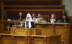 В. Матвиенко: Важным фактором обеспечения мира исогласия вмире был, есть ибудет межрелигиозный диалог