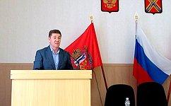 А. Шевченко принял участие всовещаниях поорганизации весенне-полевых работ вОренбуржье