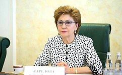 Г. Карелова: Создание условий для реализации потенциала старшего поколения принесет большую пользу государству