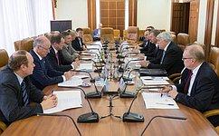 Сенаторы обсудили сглавами регионов Финляндии вопросы двустороннего приграничного сотрудничества