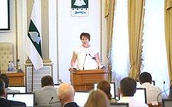 Субъекты Федерации должны иметь равные бюджетные возможности— Е.Перминова