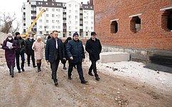 О. Алексеев входе работы врегионе посетил Марксовский район