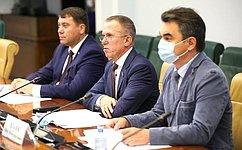 В. Кравченко провел «круглый стол» поподдержке малого исреднего предпринимательства