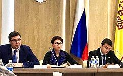 Т. Кусайко: ВЧувашской Республике успешно развивается сфера здравоохранения