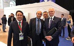 Ф. Мухаметшин принял участие взаседании «круглого стола» Российско-Египетского Делового Совета