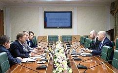 Председатель Комитета СФ помеждународным делам К.Косачев провел встречу сПослом Израиля Г.Кореном
