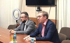 А. Майоров провел совещание повопросам обеспечения защиты прав потребителей исанитарно-эпидемиологического благополучия граждан