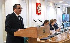 Н.Федоров: Совет Федерации уделяет приоритетное внимание совершенствованию законодательства всфере молодежной политики