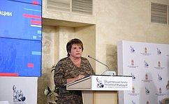 Л. Глебова: Взаимодействие Совета Федерации иОбщественной палаты РФ способствует активизации гражданского общества