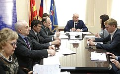 О.Цепкин провел прием граждан вЧелябинске
