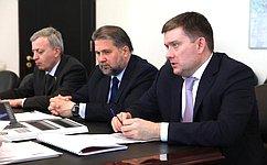 Н. Журавлев посетил срабочей поездкой Нижегородскую область