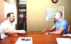 С. Белоусов: Вопрос искусственного орошения степных районов вновь вповестке дня