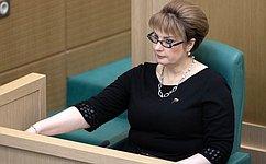 В. Матвиенко представила назаседании Совета Федерации новых сенаторов