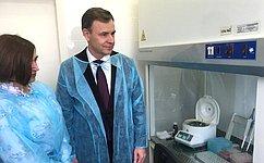 Виктор Новожилов встретился срегиональным руководством «Роспотребнадзора» и«Центра гигиены иэпидемиологии»