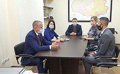 В. Кравченко: ВТомской области сформирована хорошая экосреда поподдержке МСП, втом числе новых бизнес-проектов