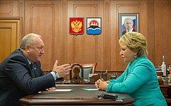 Председатель Совета Федерации обсудила сГубернатором Камчатского края строительство сейсмоустойчивого жилья