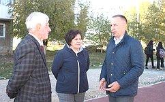 О. Алексеев: Мнение жителей Саратовской области учитывается при благоустройстве общественных территорий