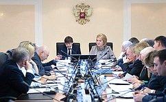 Назаседании Комитета СФ понауке, образованию икультуре выступил Министр просвещения РФ С.Кравцов