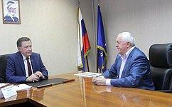 С.Рябухин провел вУльяновске прием граждан