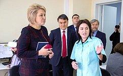Л.Гумерова встретилась спрезидентом Российской академии образования Ю.Зинченко