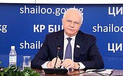 Референдум вКиргизии соответствовал национальному законодательству имеждународным стандартам– Ф.Мухаметшин