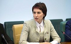Т. Лебедева избрана координатором Молодежной межпарламентской ассамблеи государств— участников СНГ