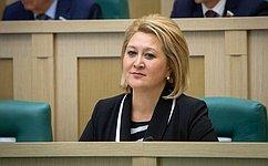 Л.Гумерова приняла участие вцеремонии вручения общественных наград «Завклад вразвитие интеллектуальной собственности»