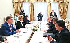 Отношения между Россией иТаджикистаном навсех уровнях активно развиваются– Председатель СФ