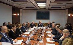 ВСовете Федерации обсудили вопросы обеспечения прозрачности взаиморасчетов при выполнении государственного оборонного заказа