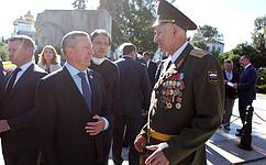 С. Березкин: ВДень воинской славы России мы должны преклонить голову перед стойкостью иотвагой нашего народа