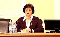 Е.Попова выступила насовещании сглавами администраций районов Волгоградской области