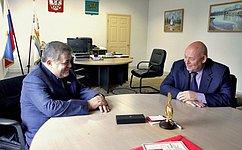 В. Джабаров входе поездки вЕврейскую автономную область обсудил вопросы социально-экономического развития региона