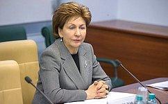 Г. Карелова встретилась сглавами национальных делегаций Финляндии иУганды врамках 137-й Ассамблеи МПС