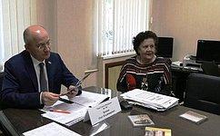 Врамках работы вЧелябинской области О.Цепкин провел прием граждан