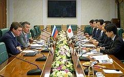 В. Озеров: Россия иЯпония развивают межпарламентское имежрегиональное сотрудничество