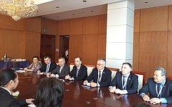 ВУлан-Баторе прошла встреча групп посотрудничеству Совета Федерации иВеликого Государственного Хурала Монголии