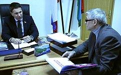И.Зубарев принял участие взаседании Законодательного Собрания Республики Карелия ипровел ряд встреч врегионе