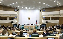 ВСовете Федерации состоялось 501-е заседание
