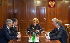 Председатель СФ иглава Бурятии обсудили перспективы социально-экономического развития Республики