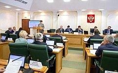 Комитет СФ побюджету ифинансовым рынкам рассмотрел исполнение региональных бюджетов вусловиях изменений налогового законодательства