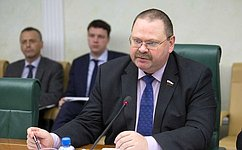 О.Мельниченко провел совещание, посвященное реализации принятых врамках Дней субъектов РФ постановлений палаты