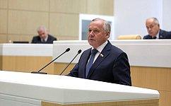 Совет Федерации принял крассмотрению закон овнесении изменений вчасти первую ивторую Налогового кодекса РФ