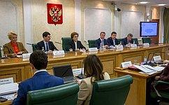 ВСовете Федерации состоялись парламентские слушания повопросам реализации национального проекта «Демография»
