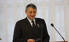 Поздравление заместителя Председателя Совета Федерации Ю.Воробьева с9мая