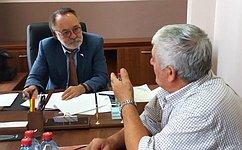 А.Тотоонов провел прием граждан вРеспублике Северная Осетия– Алания