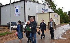 Ю. Воробьев: Натерритории центра «Корабелы Прионежья» запланировано проведение нескольких летних мероприятий для детей