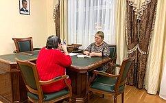 О. Старостина: Жители Ненецкого автономного округа поднимали вопросы завершения строительства инфраструктурных объектов